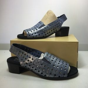 NEW Mickee Slingback Sandal MUNRO Blue Size 9N
